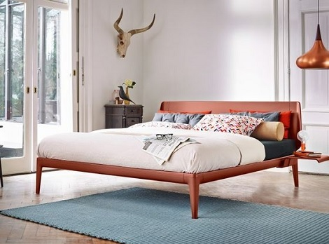 Auping_Essential_bed_rusty_red_design
