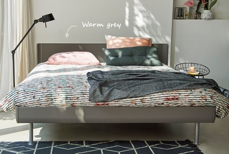 Auping Match  bed tweepersoons, design, modern,kleur  warm