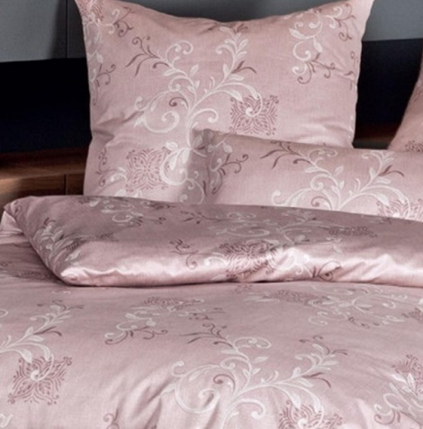 Janine Mako-Satin, overtrek Messina 43035-05,rose,rosenholz