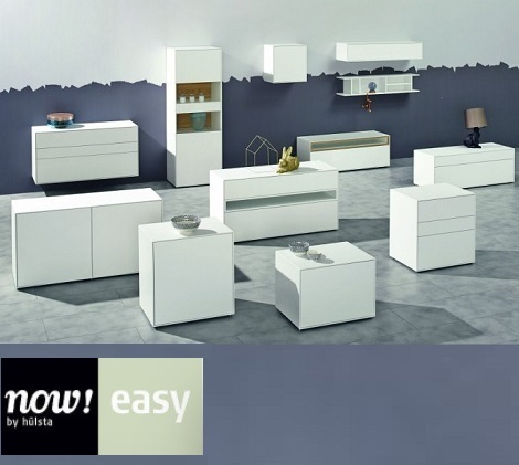Ladekast,commode,vitrinekast,boekenkast,wit,Now Easy by Hulsta