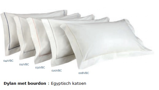 Dylan overtrekset Egyptisch katoen percale bies,petrol,wit,ivory_silver,blush,mint,black,graphite