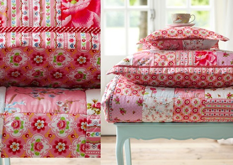 Pip sprei chinese blossom_pink_rose 150 x 200, 180 x 220