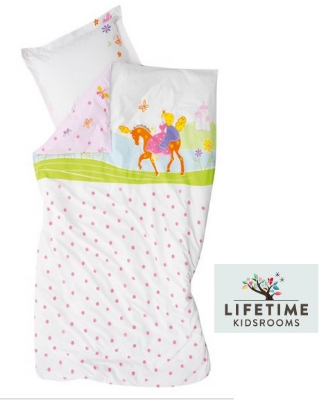 lifetime dekbedovertrek prinses kidsrooms created for fun slaapkenner theo bot meisje